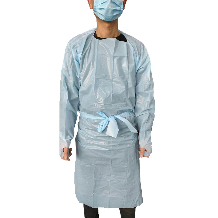 Isolation Gown For Coronavirus