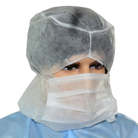 China manufacturer for polypropylene nonwoven full face disposable balaclavas