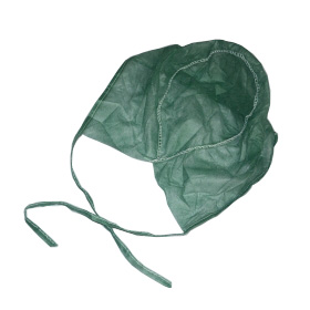 China plant disposable doctor caps,hospital nonwoven surgeon cap,green scrubs surgical caps