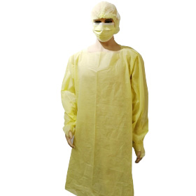 Disposable Dental Anti Static SMS Gown With Thumb Loop Suppliers